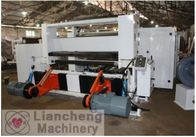 Adhesive Paper / Film Roll Label Rewinder Machine Perfect Integration Design