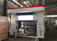 High Precision PLC Roto Printing Press , Flexo Gravure Printing Machine 0.6Mpa Pneumatic Source